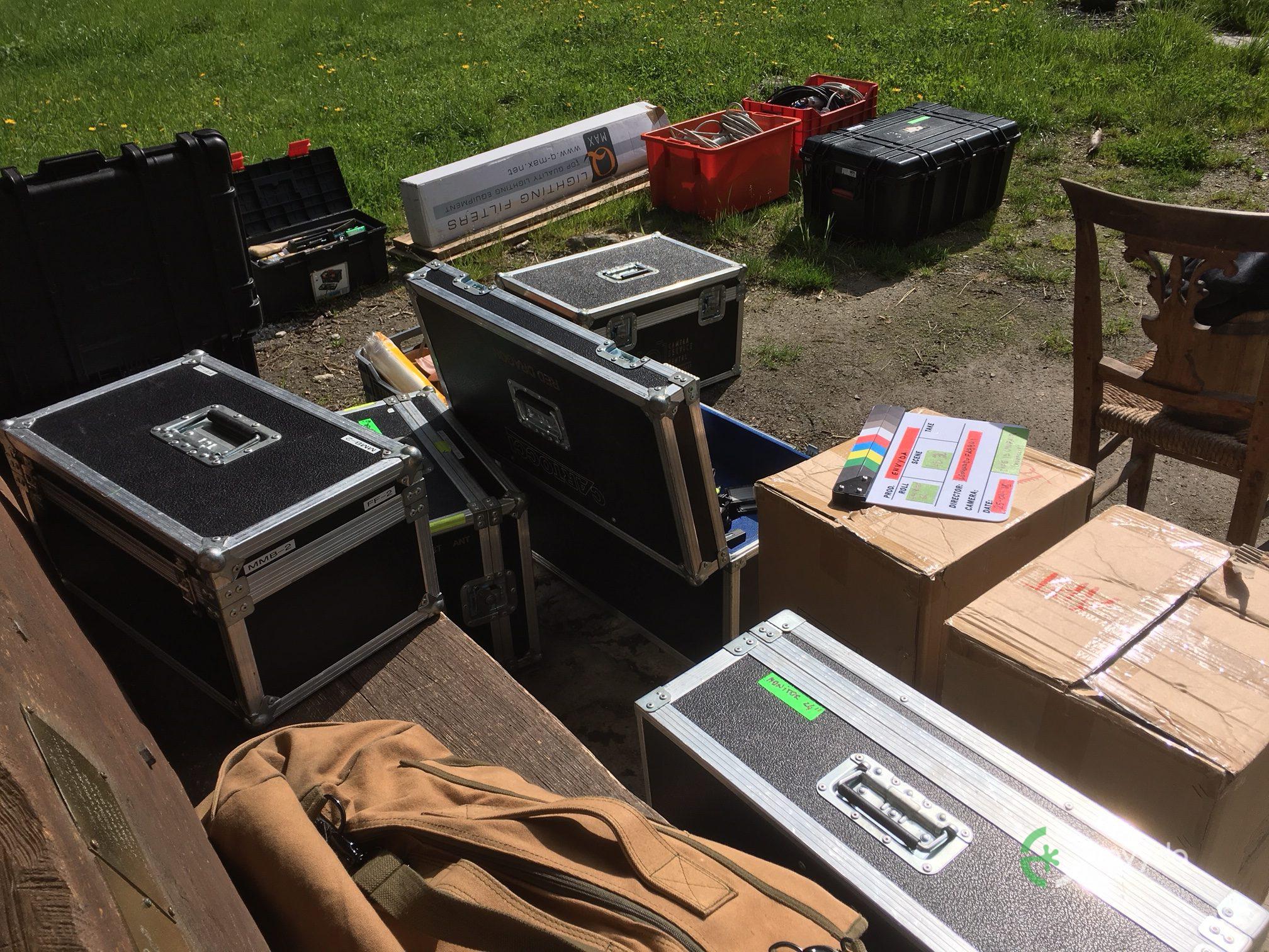 Backstage Set